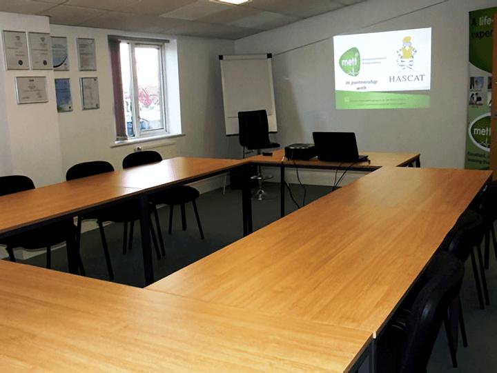 Our Leighton Buzzard training room