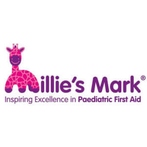 Millie's Mark - Inspiring Excellence in Paediatric First Aid Logo