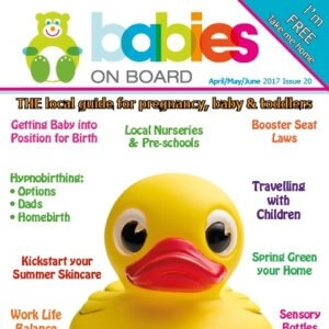 babies On Board Magazine Cover