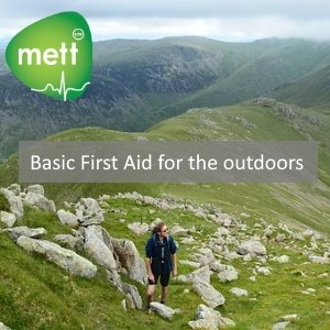 Basic First Aid for the outdoors - hiker in the Lake District